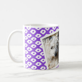 Ocelot Photo Frames - Purple Classic White Coffee Mug