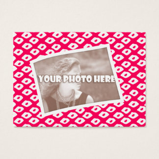 Ocelot Photo Frames - Red Business Card