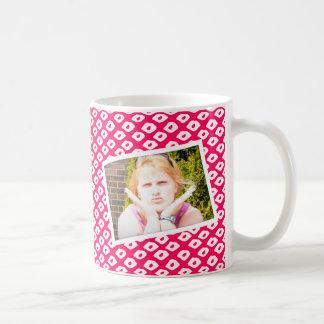 Ocelot Photo Frames - Red Classic White Coffee Mug