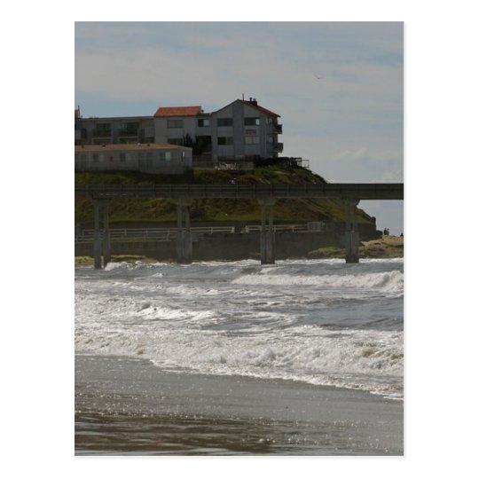Ocen Beach Pier 3 Postcard