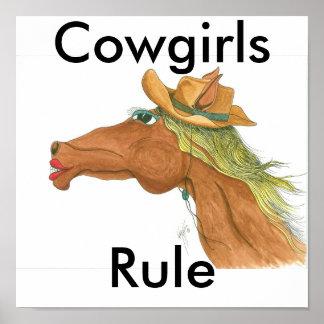OceTDS189, vaqueras, regla Póster