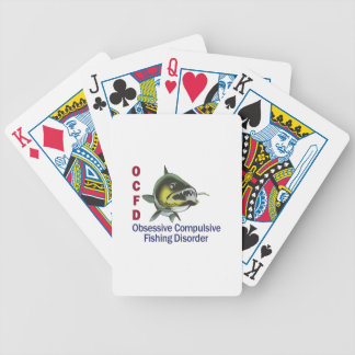 OCFD WALLEYE BICYCLE PLAYING CARDS