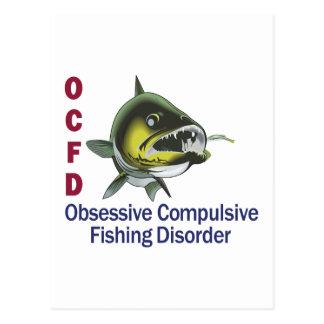 OCFD WALLEYE POSTCARD