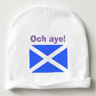 Och Aye Scottish Independence Saltire Baby Beanie