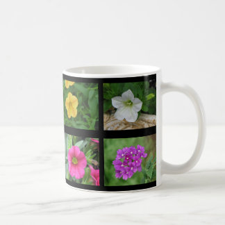 Ocho diversas flores 6 taza clásica