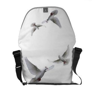 Ocho palomas bolsa de mensajería