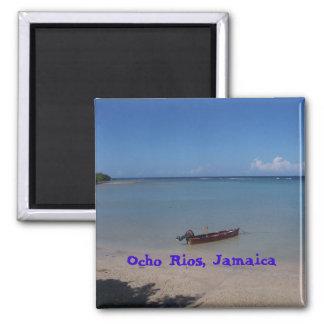 Ocho Rios, Jamaica 2 Inch Square Magnet