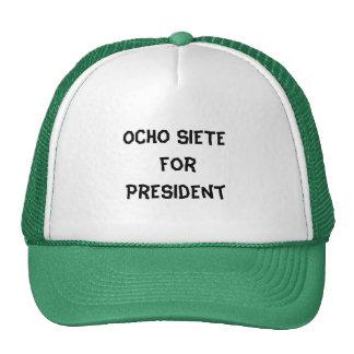 OCHO SIETE TRUCKER HAT