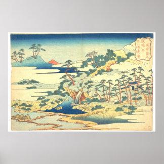 Ocho vistas de Ryukyu: La primavera sagrada en Jôg Poster