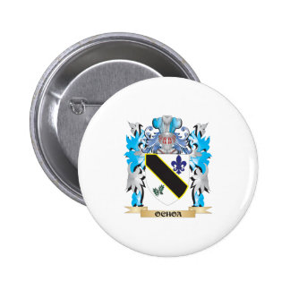 Ochoa Coat of Arms - Family Crest 2 Inch Round Button