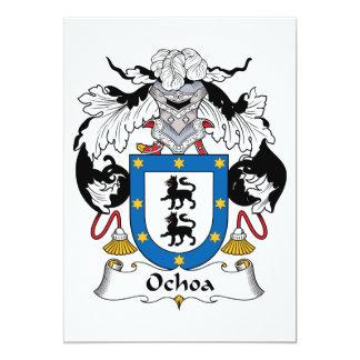 Ochoa Family Crest Cards