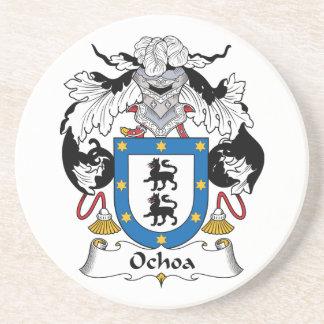 Ochoa Family Crest Coaster