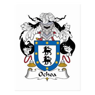 Ochoa Family Crest Postcards