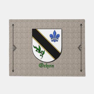 Ochoa Historical Shield on Cobblestone Doormat