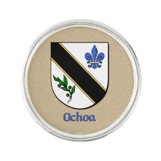 Ochoa Historical Shield Pin