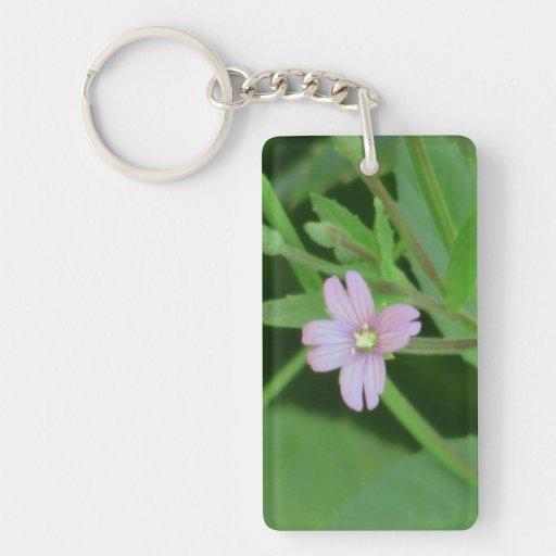 Ochoco Black Canyon Flora Flower Botany Wildflower Rectangular Acrylic Keychain