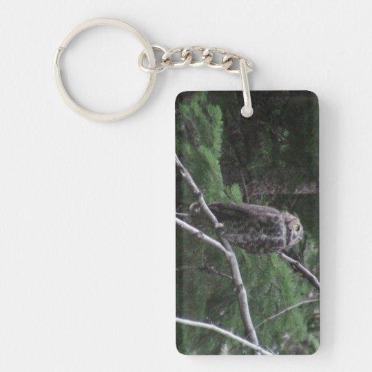 Ochoco Black Canyon Oregon Animal Bird Aves Fauna Keychain