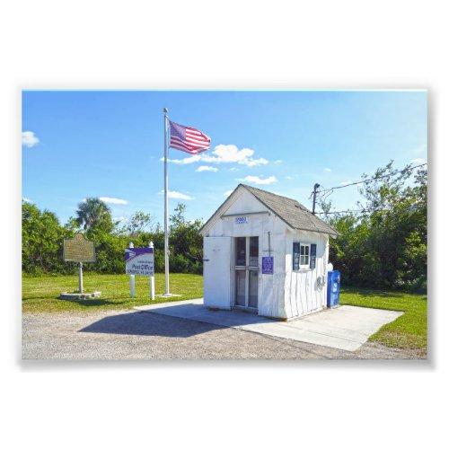 Ochopee, Florida, Post Office, Smallest in U.S. Photo Print