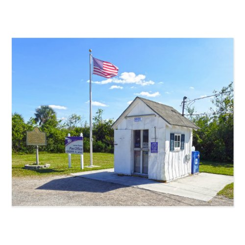 Ochopee, Florida, Post Office, Smallest in U.S. Postcard