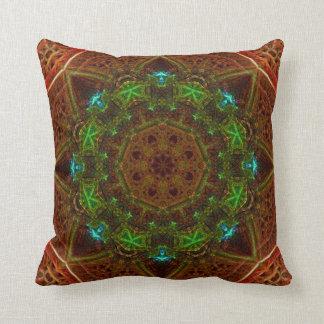 Ochre Dome Mandala Pillow