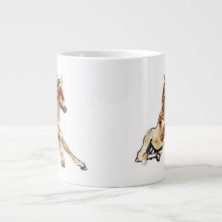 Ochre Foal Giant Coffee Mug