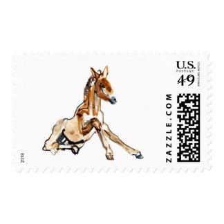 Ochre Foal Postage