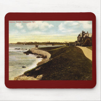 Ochre Point, Newport 1914 Vintage Mouse Pad