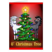 O'Christmas Tree Card