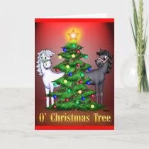 O'Christmas Tree Holiday Card