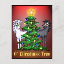 O'Christmas Tree Holiday Postcard