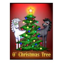 O'Christmas Tree Postcard
