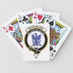 Ochterlony Clan Badge Bicycle Poker Cards