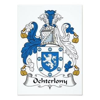 Ochterlony Family Crest 5x7 Paper Invitation Card