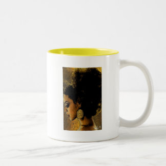 OCHUN REINA BY LIZ LOZ Two-Tone COFFEE MUG