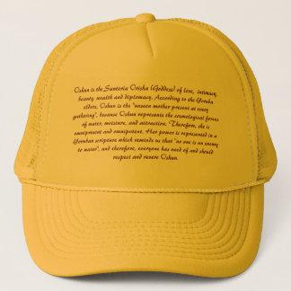 OCHUN'S DESCRIPTION TRUCKER HAT