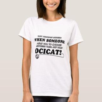 Ocical cat designs T-Shirt