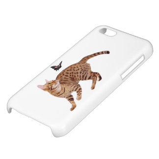 Ocicat Cat & Butterfly iPhone 5C Case