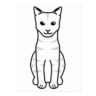 Ocicat Cat Cartoon Postcards