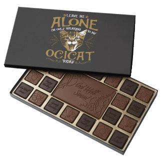 Ocicat Cat Quotes 45 Piece Box Of Chocolates