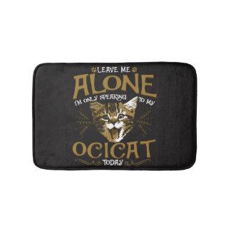 Ocicat Cat Quotes Bath Mat