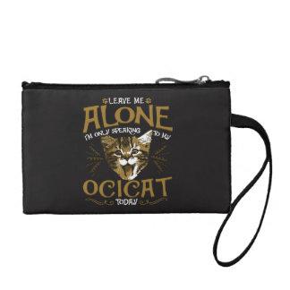 Ocicat Cat Quotes Coin Wallet