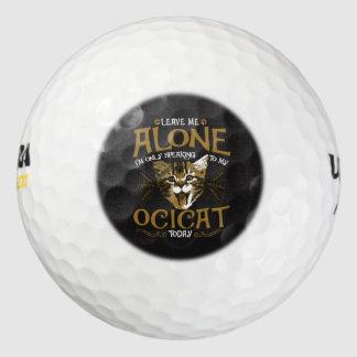 Ocicat Cat Quotes Golf Balls