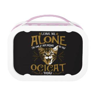 Ocicat Cat Quotes Lunch Box