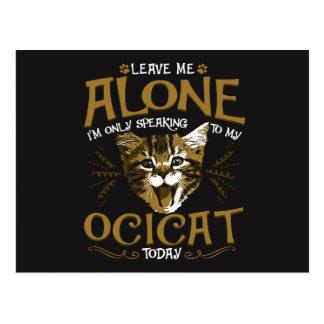 Ocicat Cat Quotes Postcard
