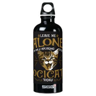 Ocicat Cat Quotes Water Bottle