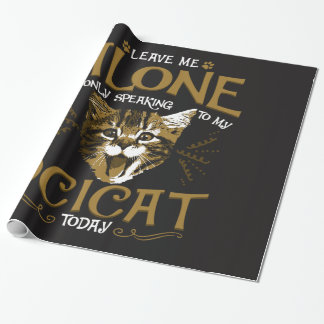 Ocicat Cat Quotes Wrapping Paper