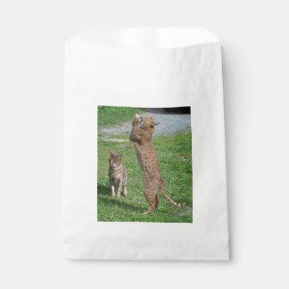 Ocicat-playing Favor Bag