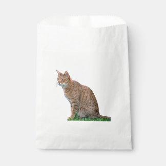 Ocicat-sitting Favor Bag