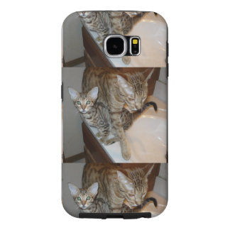ocicat Tawny_kitten_with_cinnamon_mother Samsung Galaxy S6 Case
