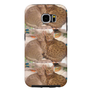 ocicats Lavender and Chocolate Samsung Galaxy S6 Case